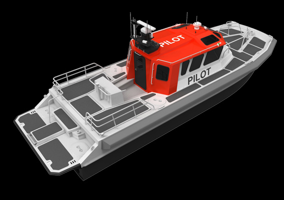 The M1: Diesel Water-jet Catamaran